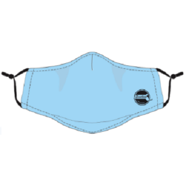 Robin Ruth  Boston Face Cover with a pocket for a filter pad  2.5M -Cotton washable - Pad2.5M  sold separately
